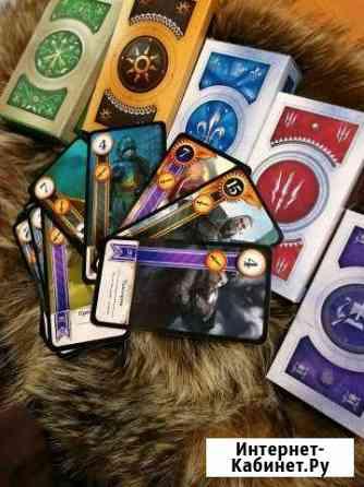 Гвинт Ведьмак настольная карточная игра Владивосток
