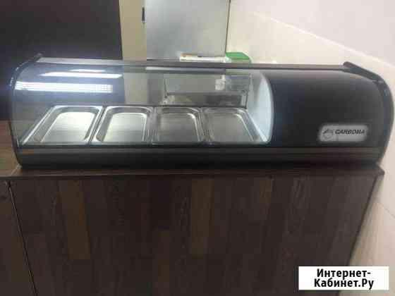 Холодильная витрина суши-кейс Carboma Омск