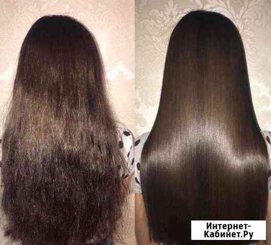 Кератиновое выпрямление/нанопластика волос Уфа