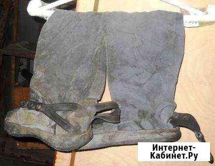 Комплект для рыбалки. Нарукавники, сапоги, фартук Вилючинск