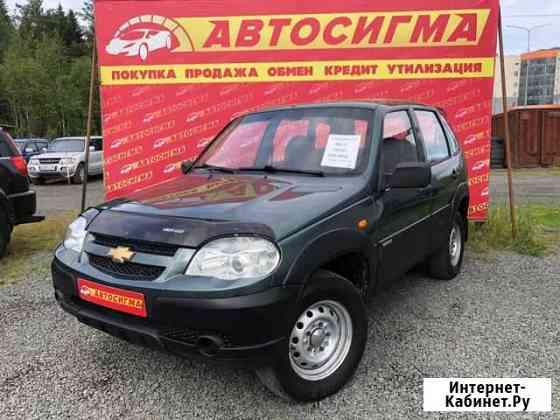 Chevrolet Niva 1.7МТ, 2010, внедорожник Петрозаводск