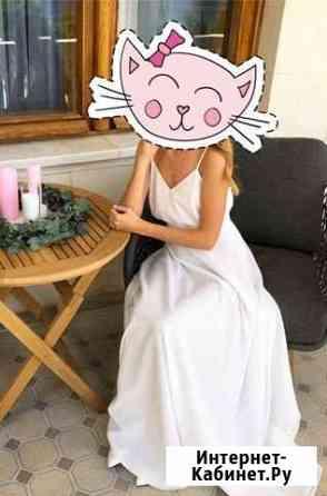 Платье белое в пол Москва