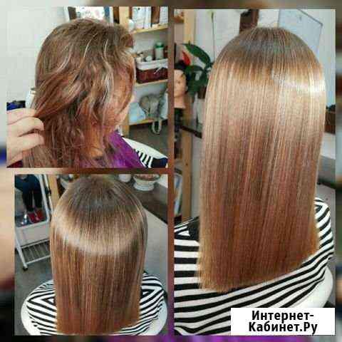Кератиновое выпрямление волос Биробиджан