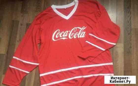 Хоккейный свитер coca cola Великий Новгород