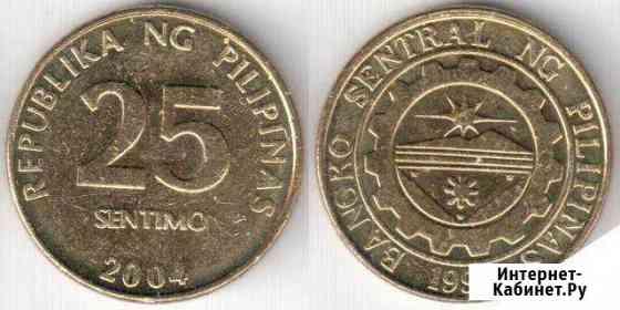 Монета 25 сентимо Биробиджан