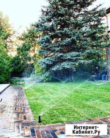 Автоматический полив, ландшафтный дизайн Ростов-на-Дону