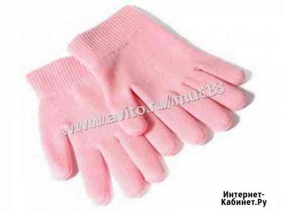 Силиконовые гелевые SPA перчатки Gloves розовые Ижевск