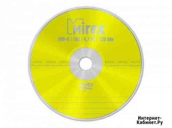 Диск DVD-R Mirex 4.7 Gb 16x 600 Воронеж