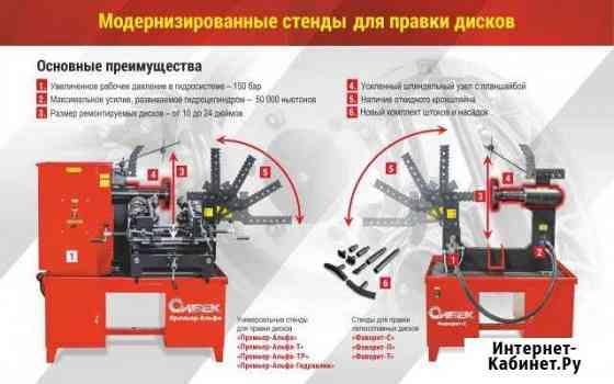 Станок для правки дисков Сибек Дископрав Петропавловск-Камчатский