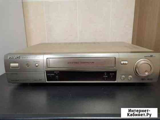 S-VHS видеомагнитофон Philips vr 999/55 matchline Москва