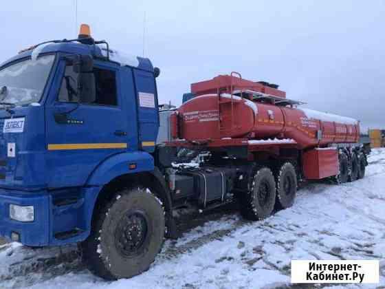 Водитель ам Камаз для перевозки сухих грузов и не Усинск