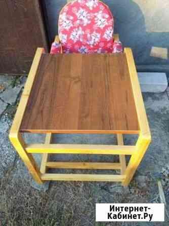 Стульчик и столик для ребенка Кардоникская