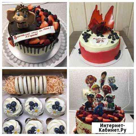 Домашние торты, капкейки и другие сладости на зака Нижний Новгород