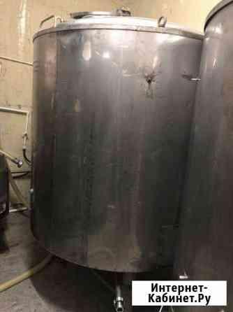 Емкость, танк дображивания 2-е тонны, пивзавод Тюмень
