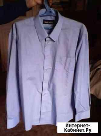 Рубашка голубая мужская новая Ангарск