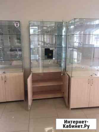 Стеклянные витрины, и антикражное оборудование Б/У Владимир