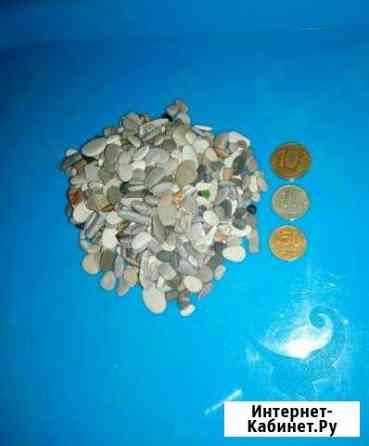Галька мелкая, для аквариума. Черноморская Тамбов