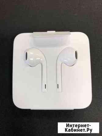 Наушники Apple EarPods (Lightning) +переходник Пермь