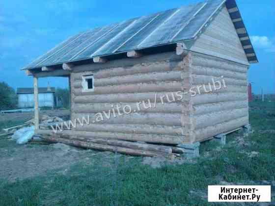 Сруб бани 3x5+ 2м. От производителя Великий Новгород