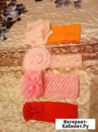 Яркие повязки на голову с рождения Махачкала