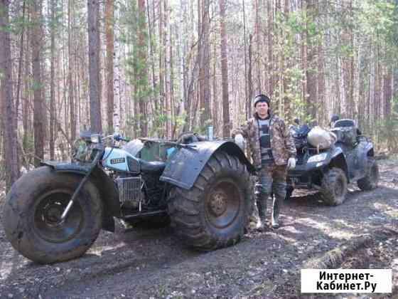 Трёхколёсный вездеход Красноуральск