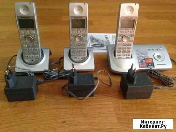 Телефон Panasonic KX-TG7125RU плюс 2 трубки Челябинск