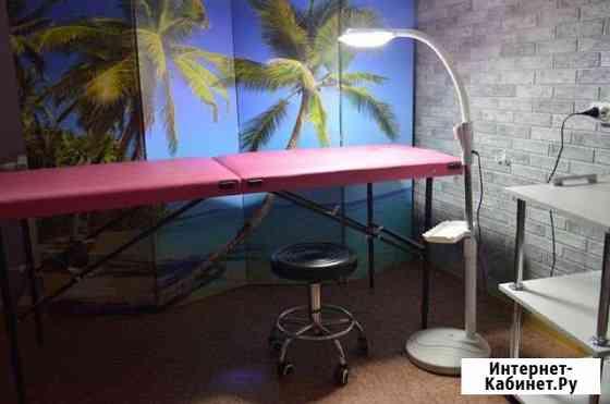 Лампа лупа,стул мастера, тележка-этажерка, кушетка Томск