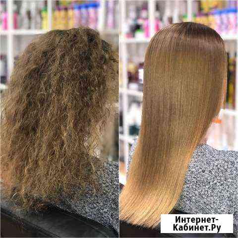 Кератиновое выпрямление, ботокс волос Волгоград