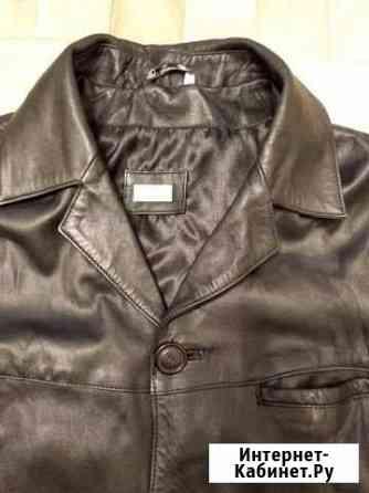 Куртка кожаная мужская, 50-52 размер Челябинск