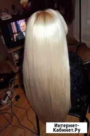 Наращивание волос славянка под ключ Калининград