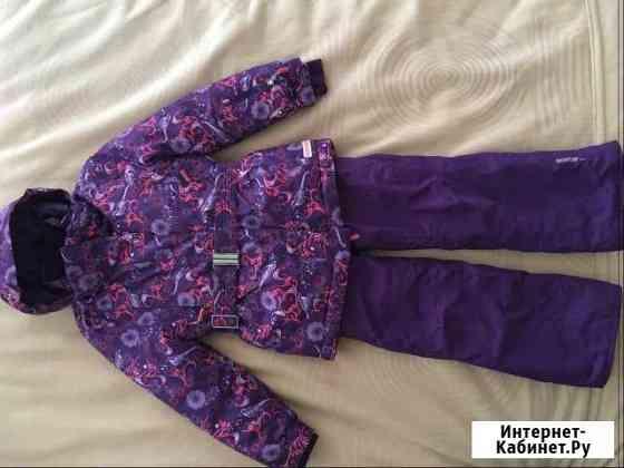 Горнолыжный костюм для девочки 128 рост Glissade Баргузин
