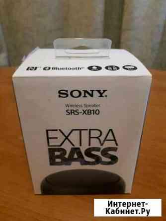 Портативная колонка Sony SRS-XB10 черная Хабаровск