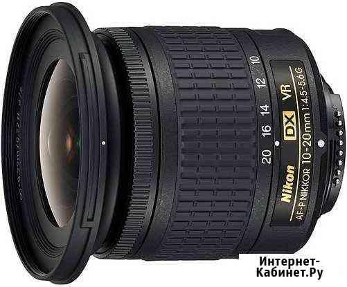 Nikon 10-20mm f/4.5-5.6G VR AF-p DX Nikkor Елизово
