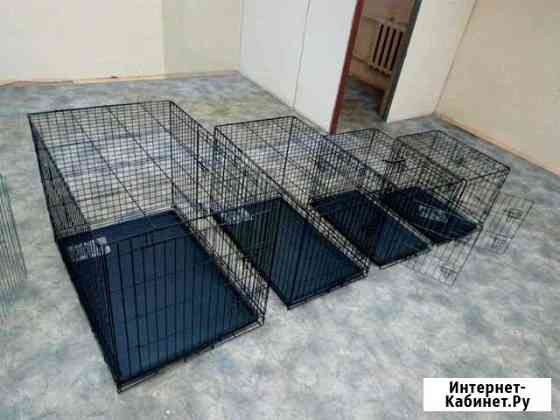 Клетки для собак Тюмень