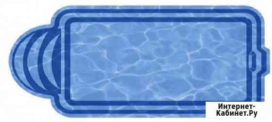 Композитный бассейн Марокко 8,0х3,18х1,48 м Севастополь