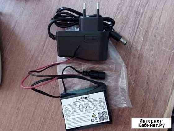Аккумулятор 12В, 2.6А + зарядка Орёл