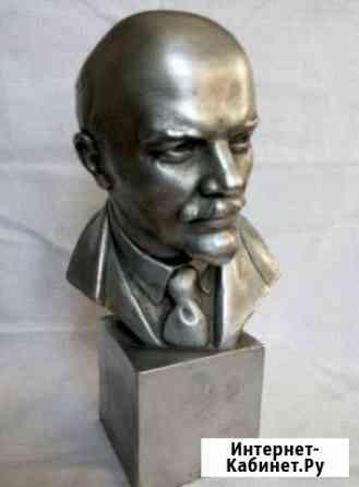 Бюст Ленина-скульптор В. Сычев Тольятти
