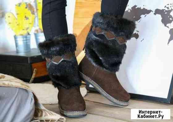 Унты женские коричневые Якутск