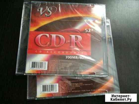 VS CD-R 700 mb 52x 80 min Воскресенск
