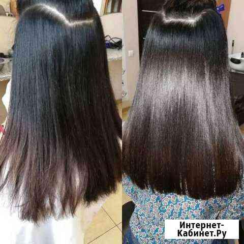 Кератиновое восстановление и выпрямление волос, ок Москва