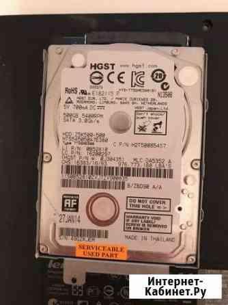 Жесткий диск HDD hgst 500 GB+озу 4Gb Казань
