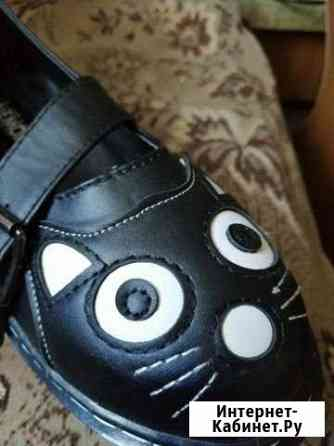 Милые туфли с толстой подошвой. Новые, 35 размер Елизово