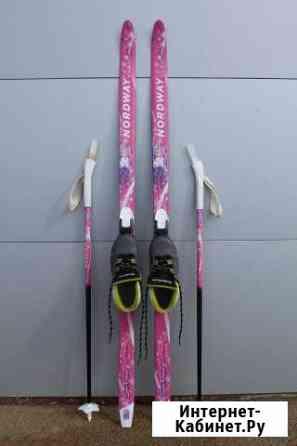 Лыжи детские с ботинками Кострома