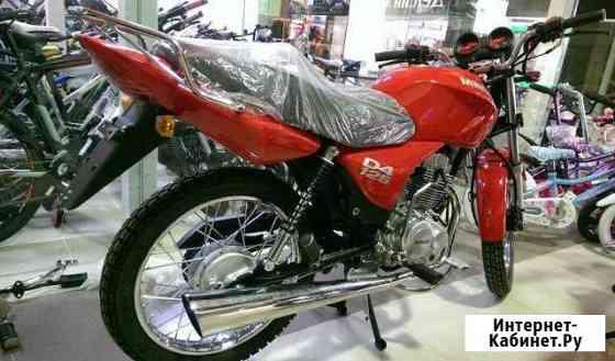Новый мотоцикл M1NSK D125 красный Беларусь Москва