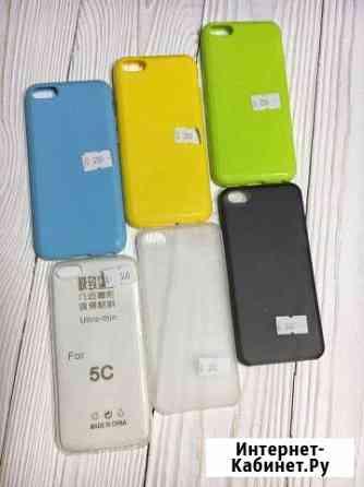 Чехлы на iPhone 5с силиконовые Самара
