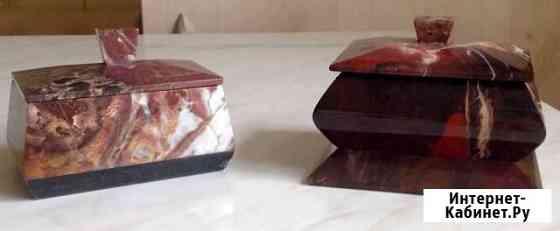 Шкатулки из яшмы Самара