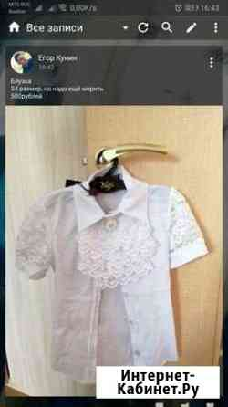 Блузка на девочку Сланцы