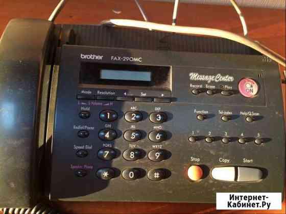 Продам факс-телефон Петрозаводск