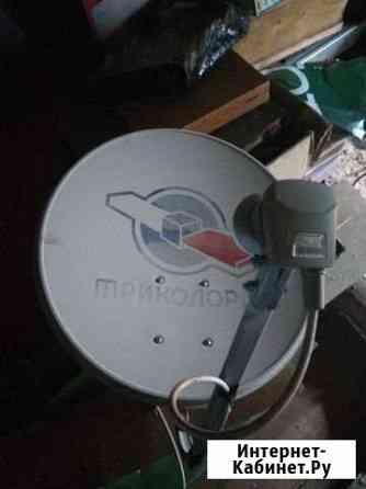 Тарелка Триколор с конвертером и рессивер Самара