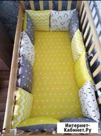 Бортики в детскую кроватку Шахунья